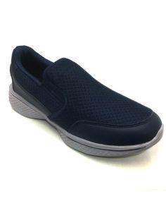 Zapatilla deportiva hombre sin Cordones Rejilla Phylon en Azules