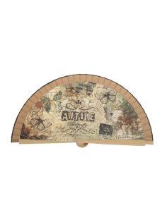 Abanico Malaka Antike de 23 cm