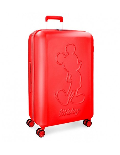 Maleta de Disney Mediana serie Mickey Premium en Roja