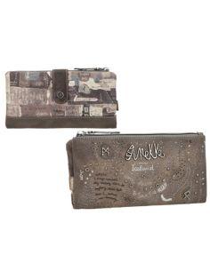 Monedero grande de Anekke Iceland Rune con billetero y tarjetero