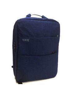 Mochila para llevar el portátil en Azul