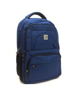 Mochila para llevar el portátil y documentos USB Azul