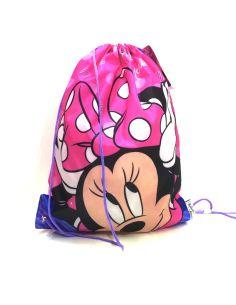 Mochila saco Infantil Disney Minnie