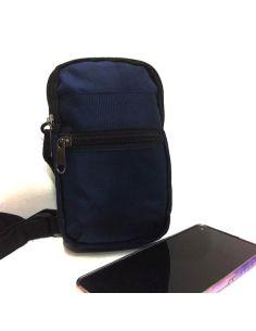 Bolso unisex para llevar el Movil color Azul Marino