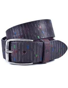 Cinturon de Cuero Bellido Jeans Marron