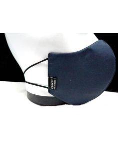 Mascarilla Junior S Higienica y Lavable Azul Marino y Negra