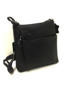 Bolso Bandolera Mini Matties esmeralda en color Negro