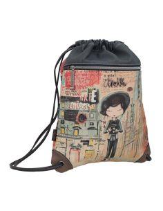 Mochila tipo saco de Anekke City Art