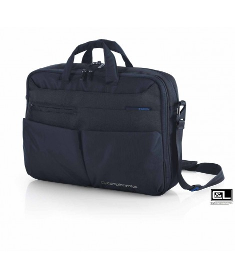 "Maletin doble Gabol Mark 15,6"" Azul"