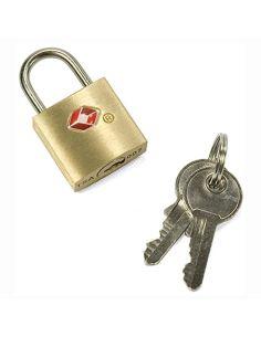 Candado para Maleta con llaves y sistema TSA
